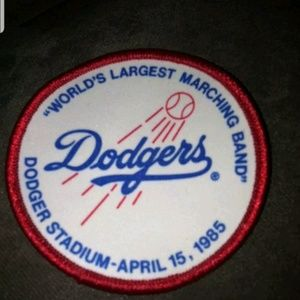 Dodger Stadium Worlds Lagest Marching Band patch